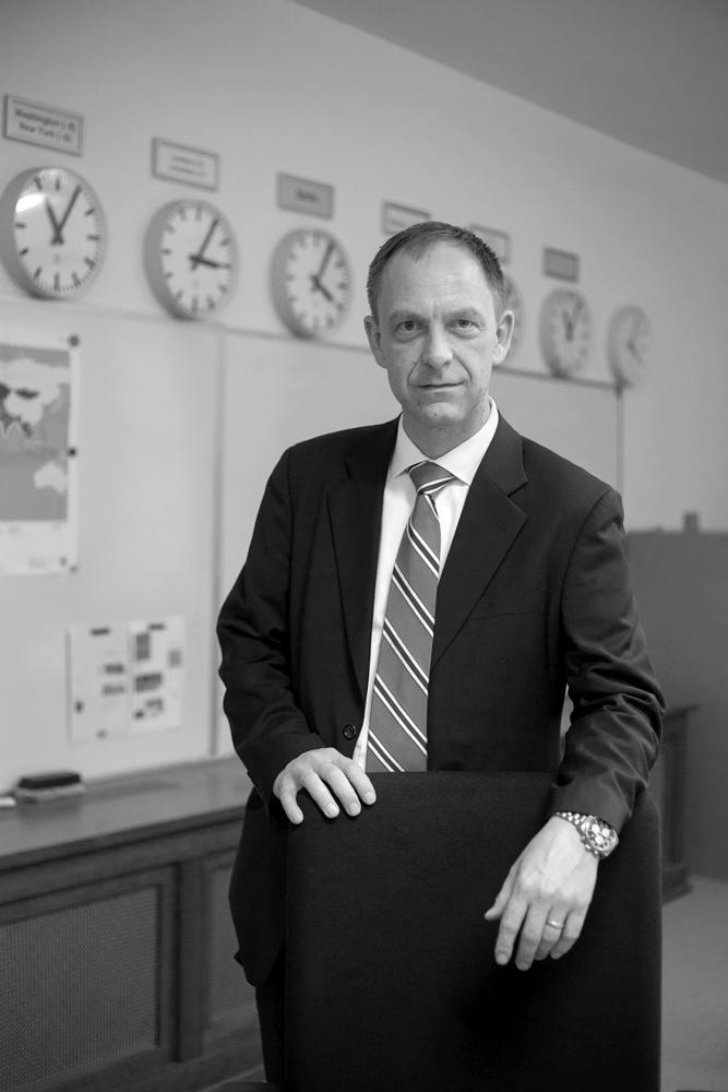 Leiter des Krisenreaktionszentrums im Auswärtigen Amt, 2014