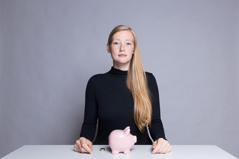 Anleitung - Ein Sparschwein befüllen - How to fill a piggy bank