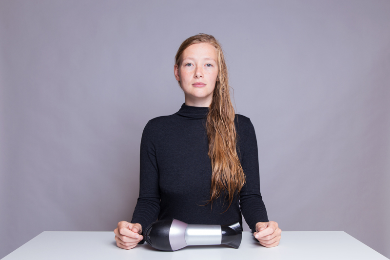 Anleitung - Sich die Haare föhnen - How to blow-dry your hair
