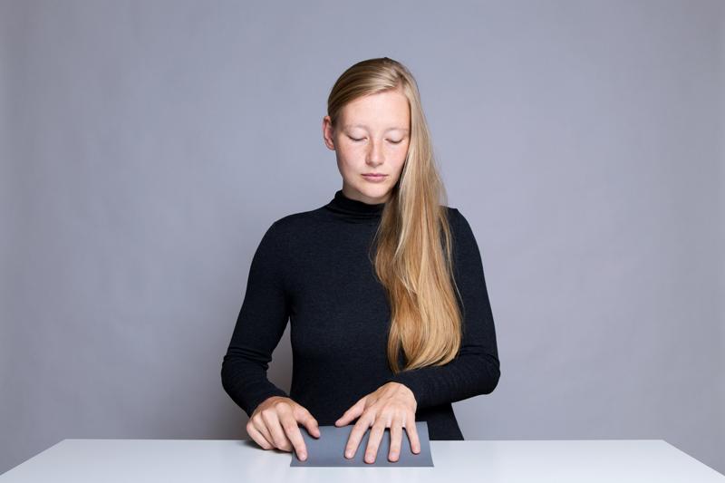 Anleitung - Ein Blatt Papier doppelt falten - How to double fold a sheet of paper