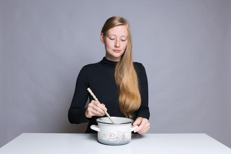 Anleitung - In einem Topf rühren - How to stir in a pot